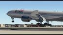 Ночной Дубай. Boeing 777-200 для X-plane 11 Актобе - Абу-Даби