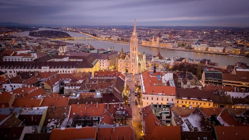 Churches of Hungary Budapest Esztergom Pécs Szeged 4K