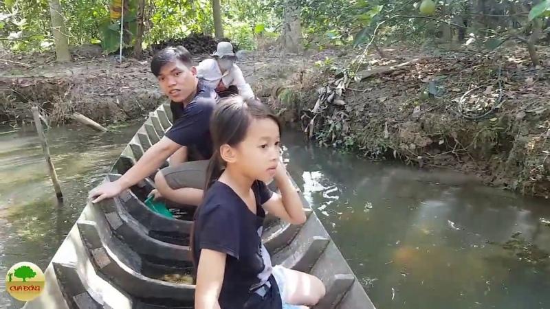 Hành trình BƠI XUỒNG BẮT ỐC ở Miền Tây | Cua Đồng - Tập 1
