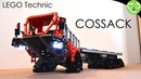 Option Industries COSSACK 6x6 oilfield Truck MOC LEGO Technic with SBrick
