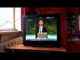 Вирус в телевизоре. Перепрошивка не помогает. Ремонт телевизора Panasonic TC-25V20R.