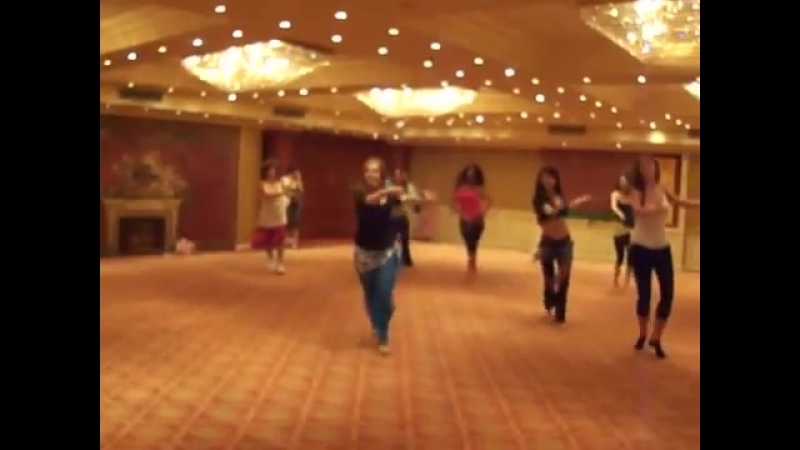 Warm up lesson with Katalin Breban on Nile Group Festival June, 2012 21993