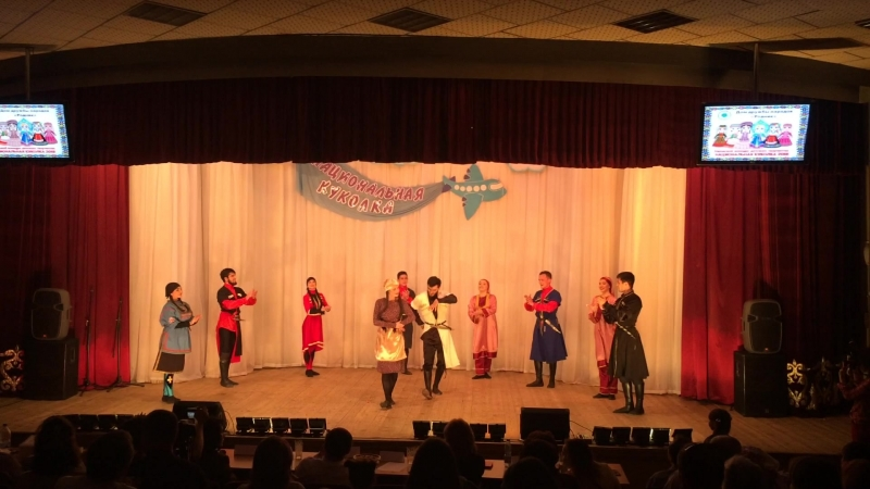 Kavkaz Style - Грузинский танец Рачули.