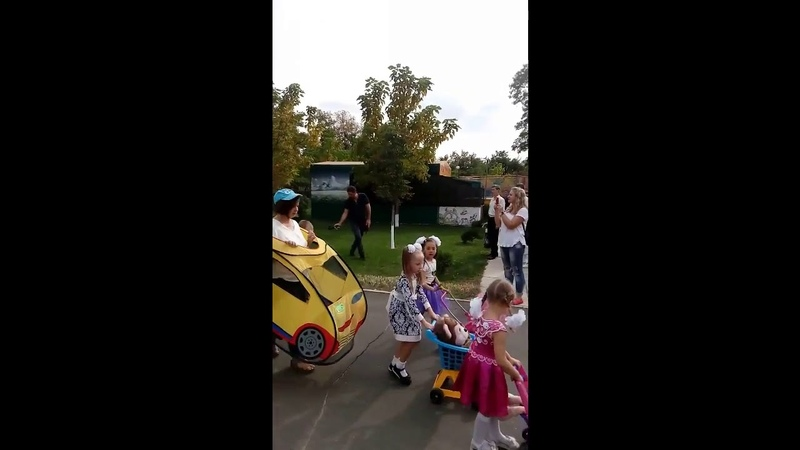 Рубежное парк Южный. Праздник День семьи. Марийка 💋 была в образе мамочки.