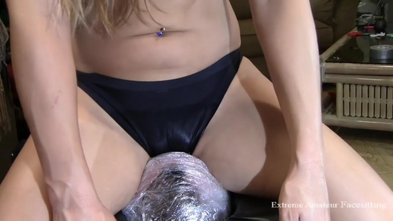 Extreme Amateur Facesitting - Piss Smothered in Dirty Panties - Sample Clip