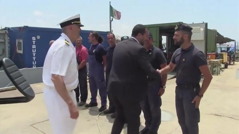 ITALIEN- Matteo Salvini bleibt bei harter Flüchtlingspolitik