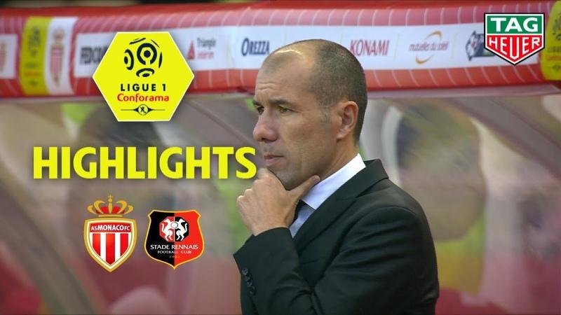 AS Monaco - Stade Rennais FC ( 1-2 ) - Highlights - (ASM - SRFC) / 2018-19