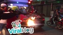 Car Trick Flame Fail || ViralHog