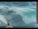Видеоурок по рисованию моря от Byron Pickering часть 2 Video КИНОЗАЛЫ У НАРКОМЫЧА