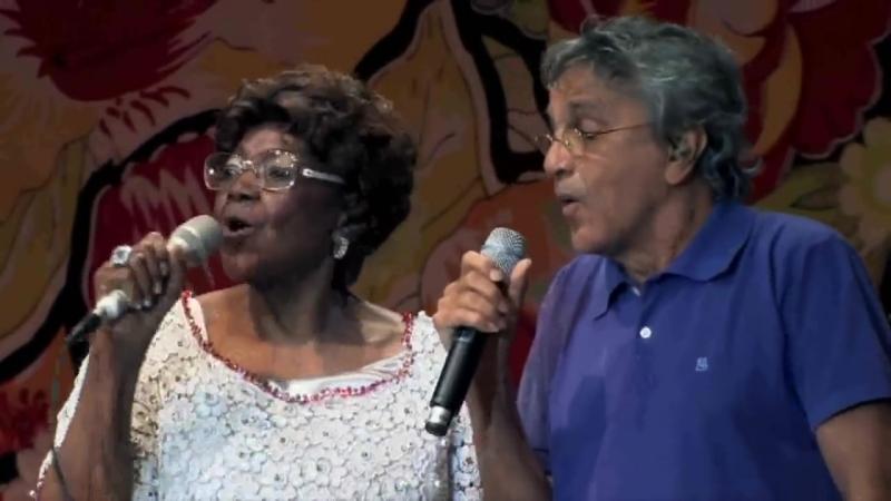 Dona Ivone Caetano e Gil - Força da imaginação - Alguém me avisou - Samba de Roda pra Salvador