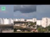 ФАН публикует видео смерча в Севастополе