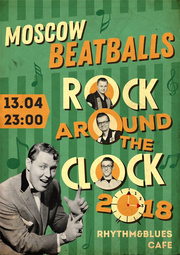 13.04 Moscow Beatballs в Ритм и Блюз Кафе
