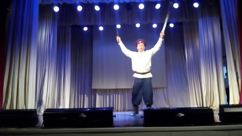 Казачий пляс с шашками! XXIII смотр-конкурс самодеятельного художественного творчества должностных лиц Выборгской таможни и член