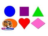 Shapes Lesson (Level 1 English Lesson 18) CLIP - Shapes in English, Teach Shapes, English shapes