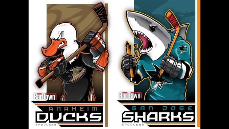 NHL Preseason Anaheim Ducks vs San Jose Sharks