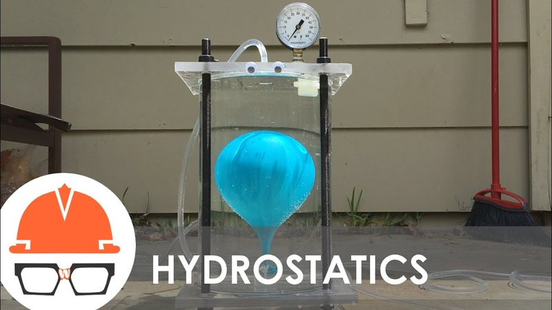 Boil Water at Room Temperature Hydrostatics