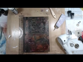 Steampunk Book Cover Tutorial ( 720 X 960 ).mp4