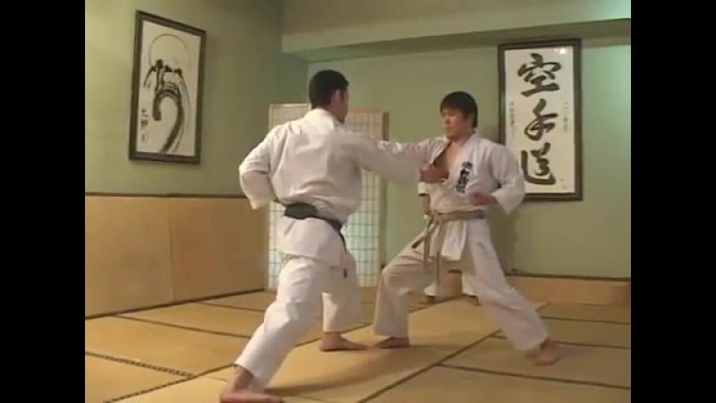 Gohon Kumite, Sanbon Kumite, Kihon Ippon Kumite, Jiyu Ippon Kumite - Hirokazu.Kanazawa