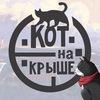 Кот на крыше // Экскурсии по крышам Петербурга