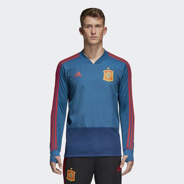Тренировочный джемпер сборной Испании