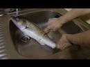 Как легко очистить рыбу от чешуи