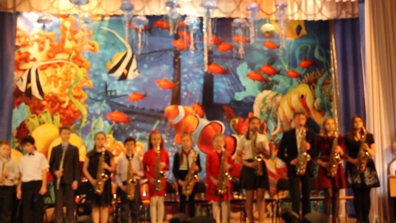 Парад саксофонистов