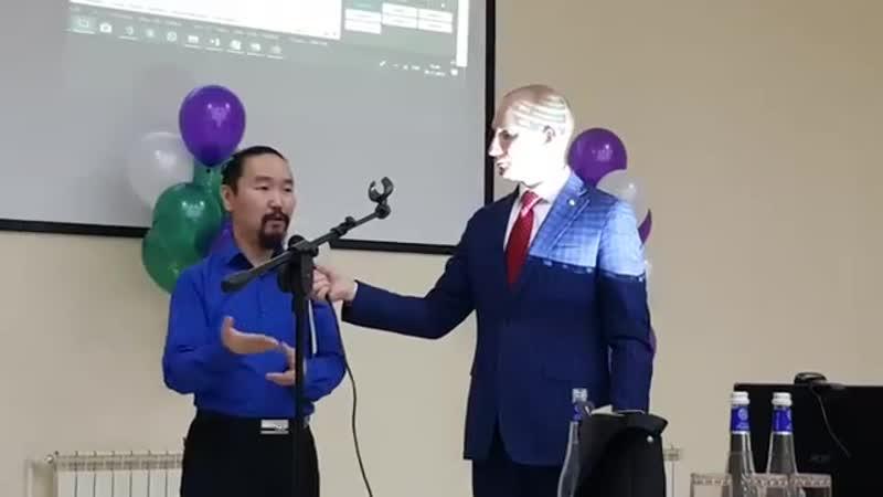 Доктор Максим Архипов из г. Якутска делится результатами применения капсул клеточного питания Elev8 и Acceler8.