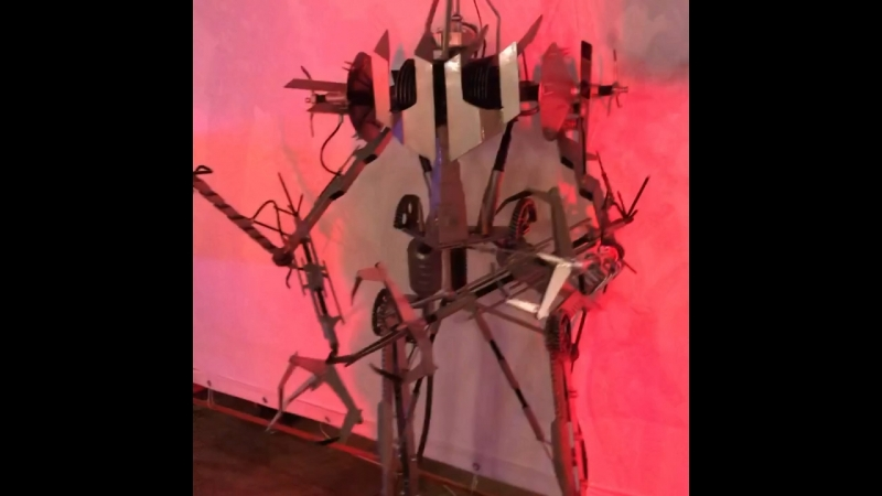 Выставка роботов!)