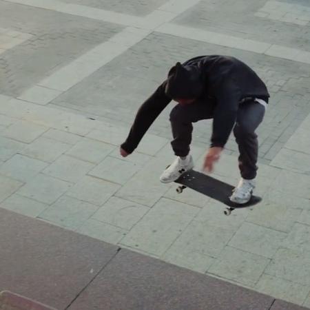 """Sasha Tushev on Instagram: """"@footworkskate @spb_shield hauntedfamily skvotboardshop nbnumeric skateboardingisfun 🎥 @maxim_shirokih"""""""