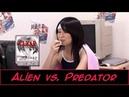 Японка играет в Alien vs. Predator Японское шоу
