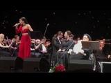 Zlata Ognevich - Adagio (concert of Montserrat Caballe in Kyiv. 14.04.2018)