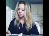 УЛЕТАЛИ ПТИЦАМИ ГОРДЫМИ ♫ (Кавер от симпатичной блондинки)