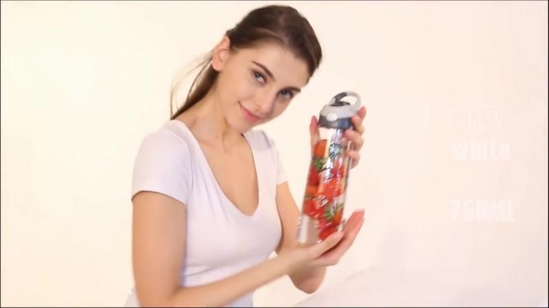 Спортивная бутылка для воды эко BPA