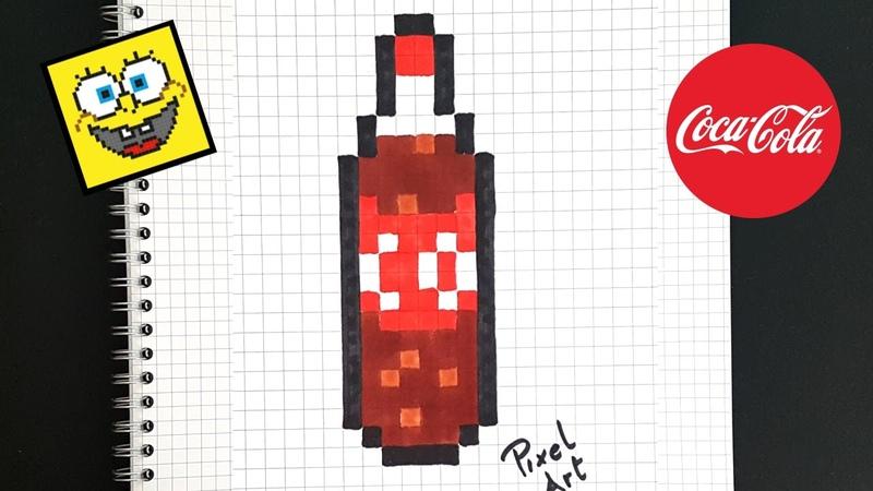 PIXEL ART: COCA COLA