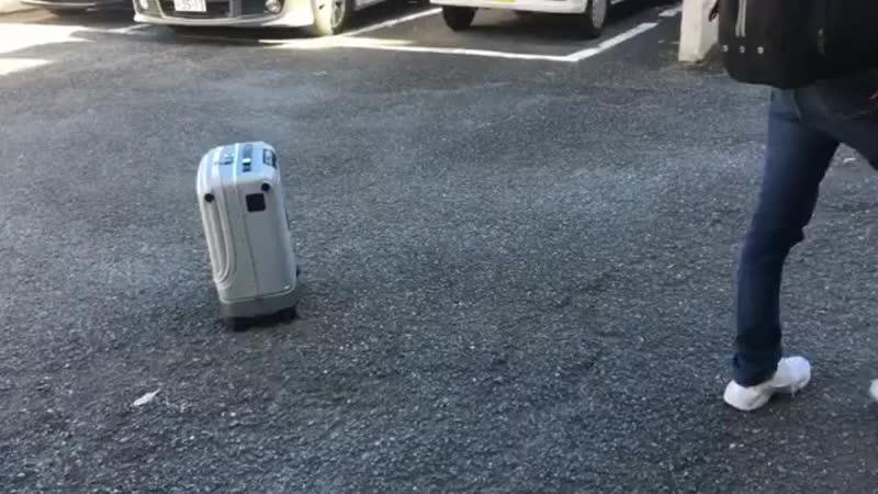 Умный чемодан Airwheel SR3 Auto