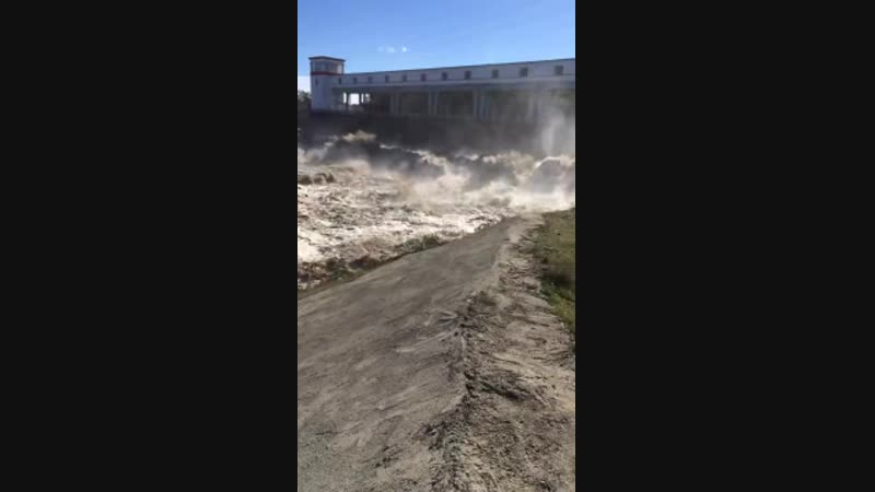 Белореченская ГЭС и р. Белая