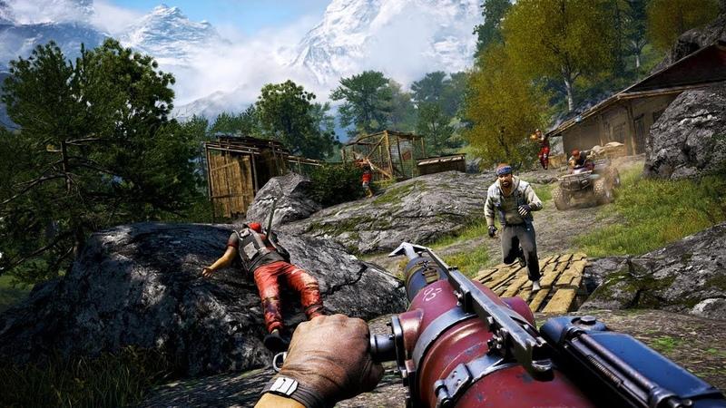 Far Cry 5 Игры на Core i9 1080 8г