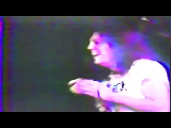 Anal Cunt - Live at Middle East in Cambridge, MA (1989) [From Split VHS w/ Psycho]