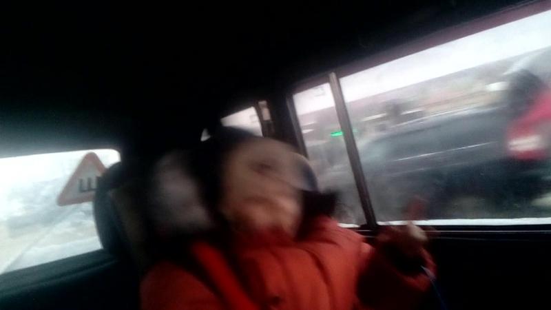 отрыв в машине