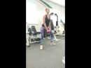 Становая тяга сумо с гирей