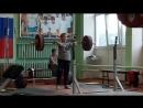 Даниил Наумов-05 г/р-толчок кл.-70 кг. (хороший подход, жаль не удачно).
