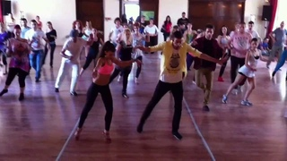 Pachanga Workshop Panagiotis & Myrto @ 4th Athens Salsa Spring Fest 2013
