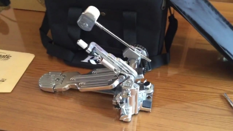 Steve Maxwell new Rogers Dyno-matic bass drum pedal