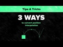 After Effects Tips Tricks 1 Interpolation