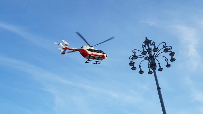 Вертолет на ВДНХ 200918г.