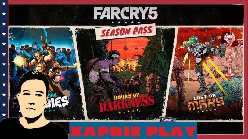 🔴LIVE stream / Far Cry 5 Season Pass / Зомби, Гуки... на Марсе??