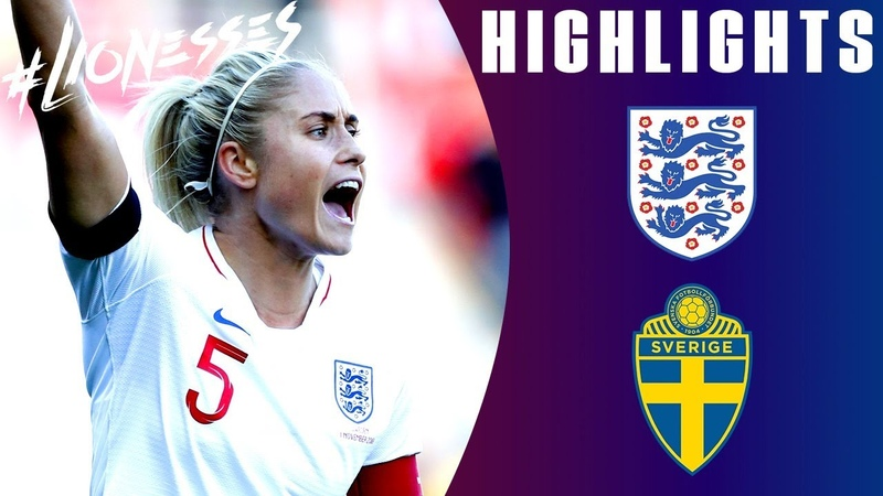 England 0-2 Sweden | Unfortunate Result for Steph Houghtons 100th Cap | Lionesses Highlights