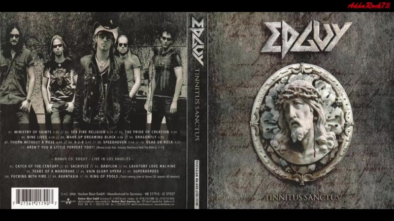 Edguy - The Pride of Creation (Tinnitus Sanctus, 2008)