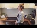 Домашние тренировки🏋🏻🍕 AgentGirl Настя Ивлеева