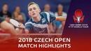Zhang Yudong vs Liam Pitchford | 2018 Czech Open Highlights (R16)